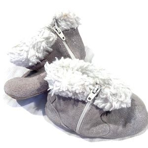 Robeez Silver Sparks Booties